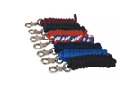 Poly Lead Rope - 5/8 in. Nickel Plated Buffalo Snap - Two Toned