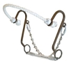 Antique Brown Little S Hackamore