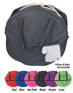 "600D Poly Rope Bag Adult W/1"" Quick Snap"