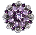 Crystal Concho Light Amethyst 204/Amethyst 212