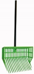6-Pak Basket Manure Fork Head with Black Handle and Hardware ASSORTED COLORS (SET OF 6)