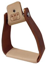 Sloped Aluminum Roper Stirrup Bronze Finish