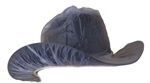 Western Rain Hat Cover Clear - LARGE
