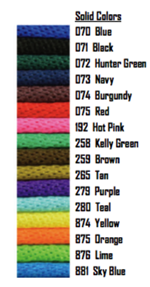 Poly Lead Rope - 5/8 in. Brass Plated Buffalo Snap - Solid Colors