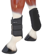 Black Splint Boot