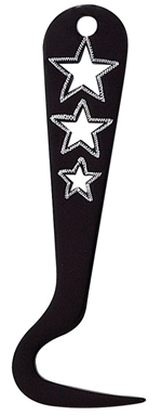 Alum Hoof Pick Star Cut-Outs