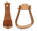 Sloped Wooden Roper Stirrups