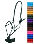 5/16 in. Rope Hltr W/8 Lead - Draft Horse Size