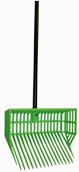 6-Pak Basket Manure Fork Head with Black Handle and Hardware ASSORTED COLORS (SET OF 6) - 244-717