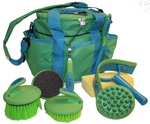 8PC Grooming Kit w/Deluxe Tote Bag