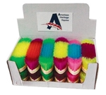 8 in. Neon Brush Asst (12 pc Box)