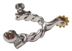 NP Toddler Roping Spurs 1/2 in. Twist Wire Band