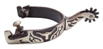 Ant Brn Spur Mens 2 in. Shank 1 in. Band 10 Pt